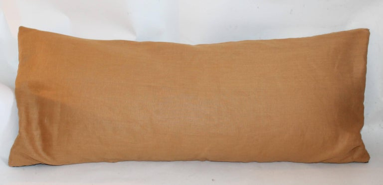 Hand-Woven Navajo Indian Weaving Eye Dazzler Large Pillow For Sale