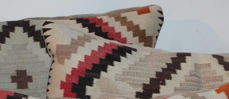 Navajo Indian Weaving Eye Dazzler Pillows For Sale 1