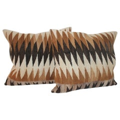 Navajo Indian Weaving Eye Dazzler Pillows