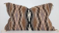 Navajo Indian Weaving Kidney Pillow