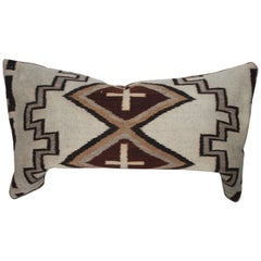 Navajo Indian Weaving Lg. Bolster Pillow #2