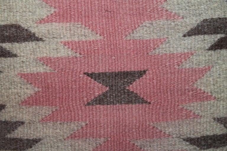 Adirondack Navajo Indian Weaving Pillow For Sale