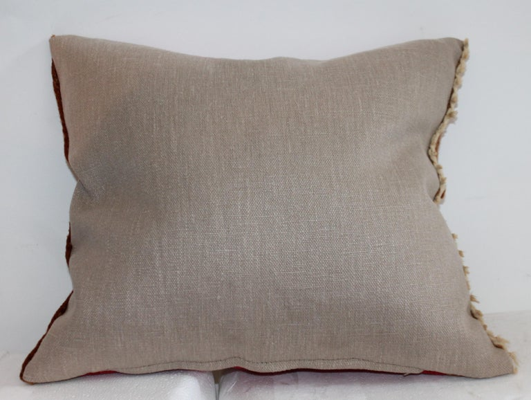 American Navajo Indian Weaving Pillow For Sale