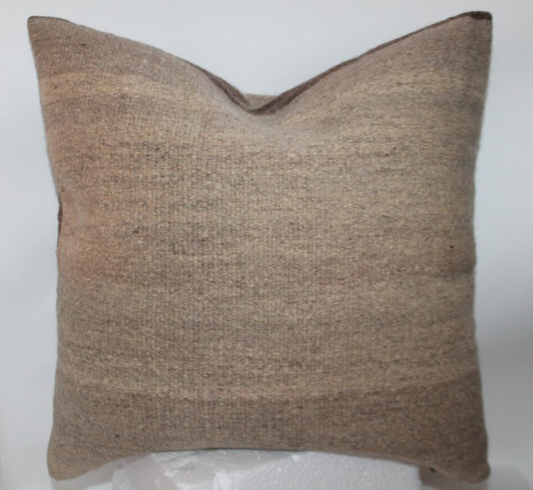 Hand-Woven Navajo Indian Weaving Pillow For Sale