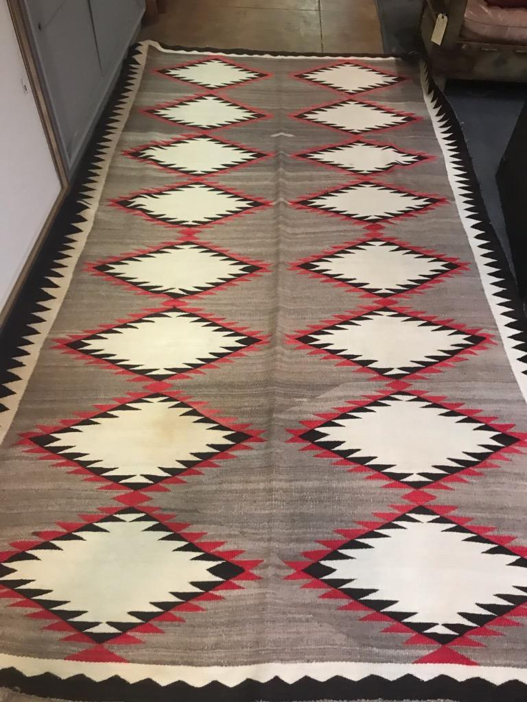 This huge 10 foot 5 inches long by 5 foot 4 inches wide is in fine condition and very vibrant and clean. The condition is very good but very clean professionally.