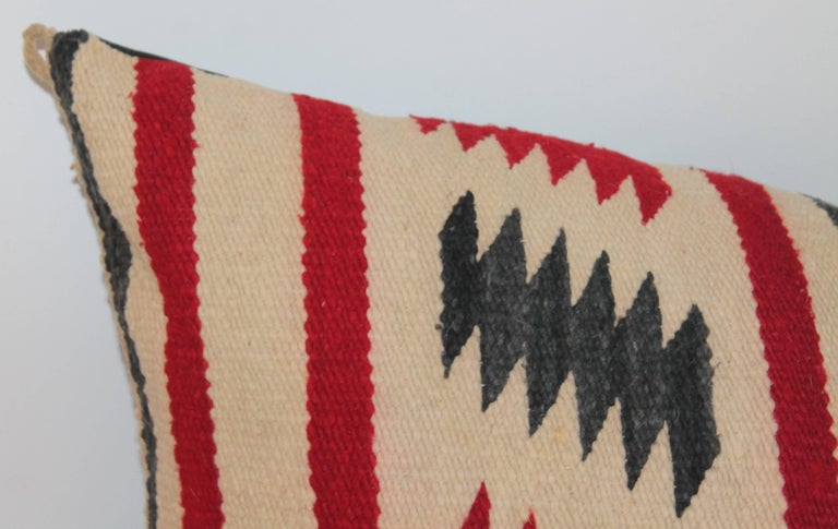 Other Navajo Indian Weaving Saddle Blanket Pillow For Sale