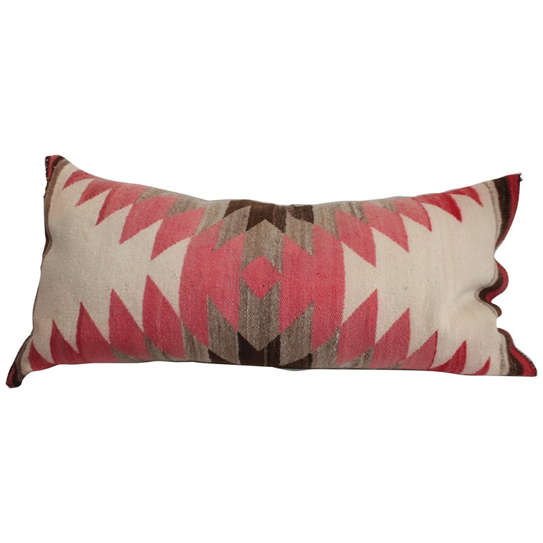 Navajo Indian Weaving /Saddle Blanket Pillow For Sale