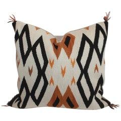 Navajo Indian Weaving / Saddle Blanket Pillow