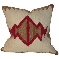 Navajo Indian Weaving Saddle Blanket Pillow