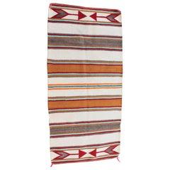 Navajo Indian Weaving with Arrows