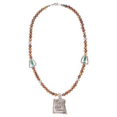 Navajo Mysterious Sterling Necklace