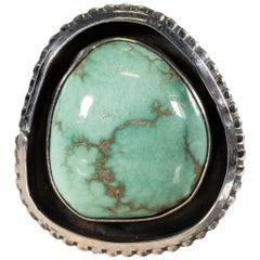 Navajo Natural Royston Turquoise Ring