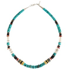 Navajo Necklace by Tommy Singer