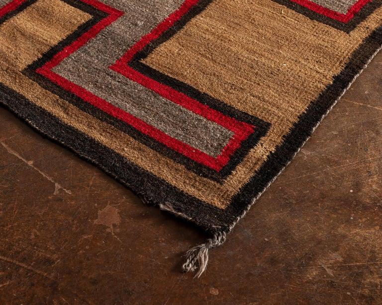 North American Navajo Regional Textile, 1930s For Sale