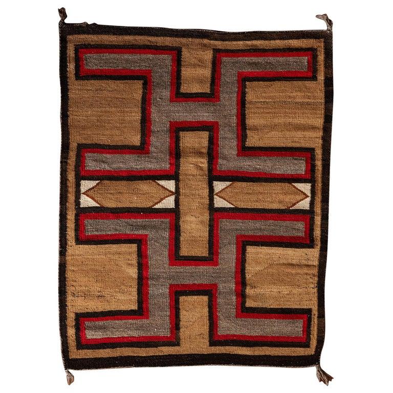 Navajo Regional Textile, 1930s For Sale