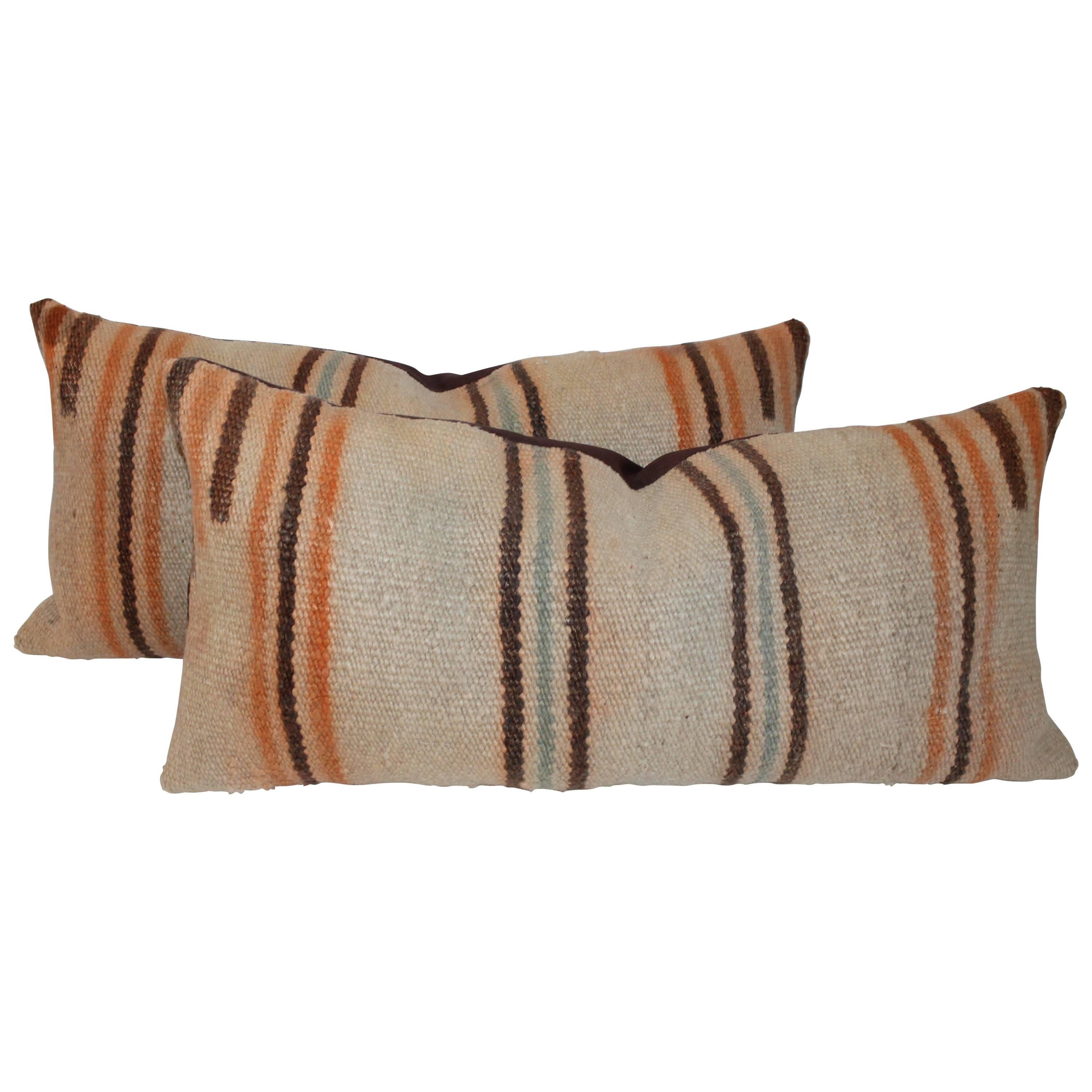 Navajo Weaving Flying Geese Pillows