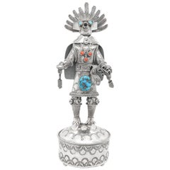Navajo Sterling Spirit Dancer by Toby Henderson