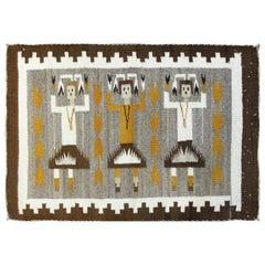 Navajo Three Figure Yei Rug, Free Shipping
