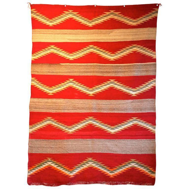 Navajo Transitional Blanket, circa 1880-1900