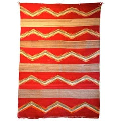 Navajo Transitional Blanket, circa 1880-1900