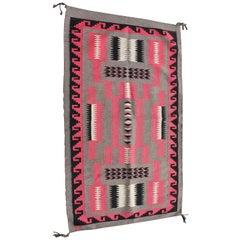 Navajo Indian Weaving Storm Pattern Rug