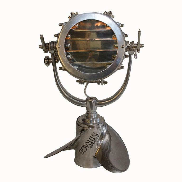 Burnished Naval Morse Code Light 'replica' For Sale