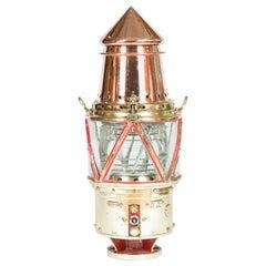 Navigational Buoy Light with Fresnel Lens
