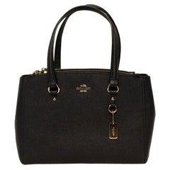 Navy COACH NY Handbag