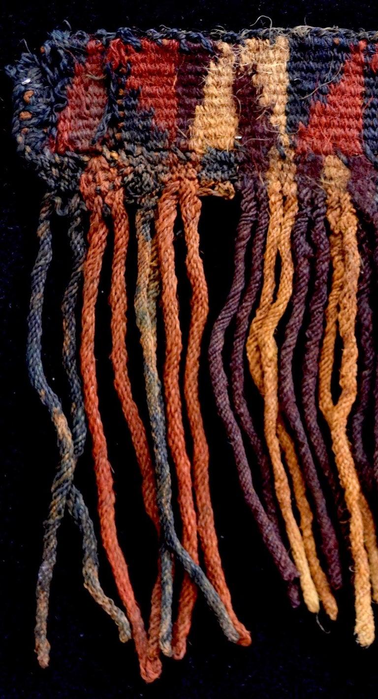 Peruvian Nazca Pre-Columbian Textile, Peru, circa 600BC-100AD, Ex Ferdinand Anton For Sale