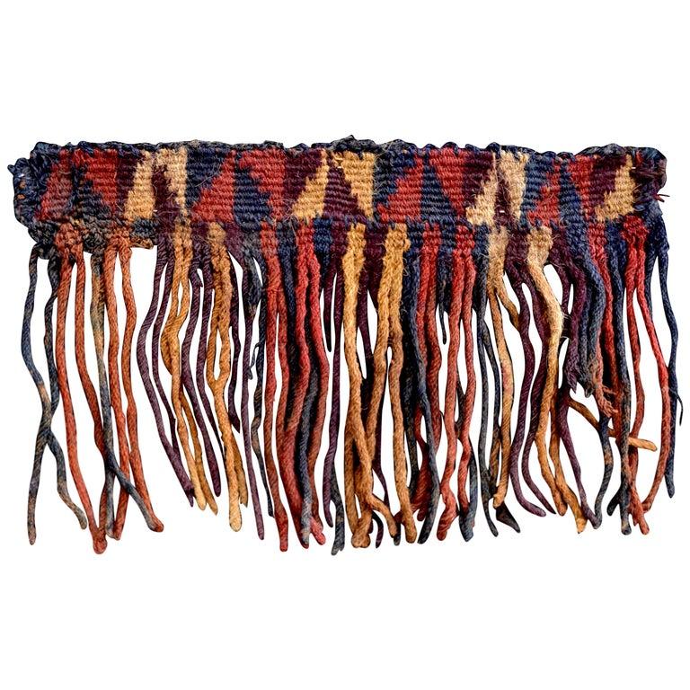 Nazca Pre-Columbian Textile, Peru, circa 600BC-100AD, Ex Ferdinand Anton For Sale