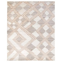 Nazmiyal Collection African Retro Rug. Size: 6 ft x 9 ft