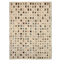 Nazmiyal Collection Modern Moroccan Style Rug. 10 ft 3 in x 13 ft 10 in