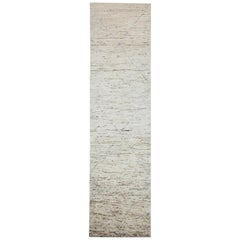 Nazmiyal Collection Beige Modern Moroccan Style Runner Rug 2 ft 5 in x 9 ft 8 in
