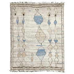 Nazmiyal Collection Berber Design Modern Moroccan Rug 9 ft 6 in x 11 ft 10 in