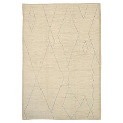 Nazmiyal Collection Geometric Modern Moroccan Style Rug. 9 ft 11 in x 14 ft