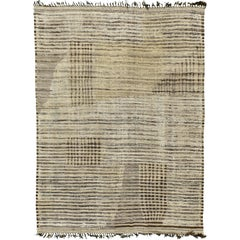 Nazmiyal Collection Decorative Modern Distressed Rug 9 ft 10 in x 14 ft