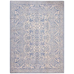 Nazmiyal Collection Decorative Modern Indian Agra Cotton Rug. 9 ft x 12 ft