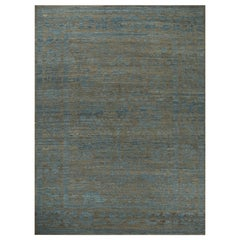 Nazmiyal Collection Decorative Modern Turkish Oushak Rug 12 ft 2 in x 15 ft 5 in