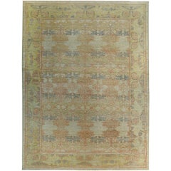 Nazmiyal Collection Decorative Modern Turkish Oushak Rug 13 ft 10in x 18 ft 6in