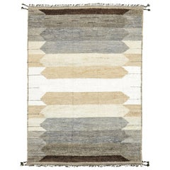 Nazmiyal Collection Geometric Boho Chic Rug. Size: 9 ft 10 in x 14 ft