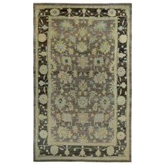 Nazmiyal Collection Large Modern Turkish Oushak Rug 11 ft 4 in x 18 ft 7 in