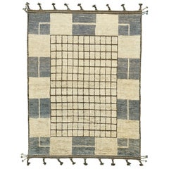Nazmiyal Collection Modern Boho Chic Rug. Size: 10 ft 2 in x 13 ft 10 in