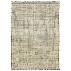 Nazmiyal Collection Modern Distressed Area Rug 9 ft 9 in x 13 ft 9 in
