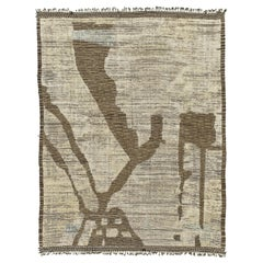 Nazmiyal Collection Nature Inspired Modern Distressed Rug 10 ft 1 in x 13 ft 4in