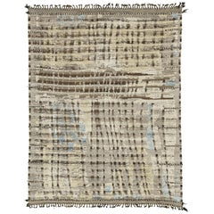 Nazmiyal Collection Nature Tones Modern Distressed Rug 7 ft 10 in x 10 ft 3 in