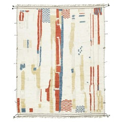 Nazmiyal Collection Shiny Design Modern Boho Chic Rug 10 ft 4 in x 13 ft 4 in
