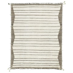 Nazmiyal Collection Soft Cream Modern Boho Chic Rug 10 ft 5 in x 13 ft 8 in