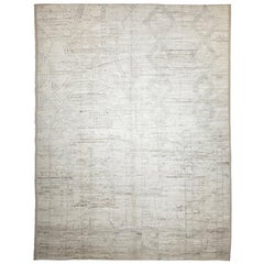 Nazmiyal Collection Tribal Modern Moroccan Style Rug 10 ft 4 in x 13 ft 6 in