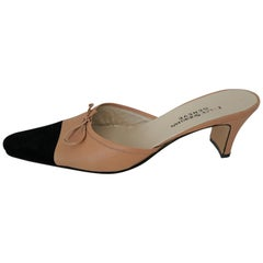 Nazy Sheikhan Bicolor Leather Heels. Size 41