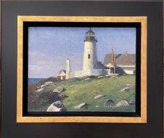 Pemaquid Light, original marine landscape